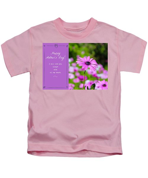 Mother's Day Love Kids T-Shirt