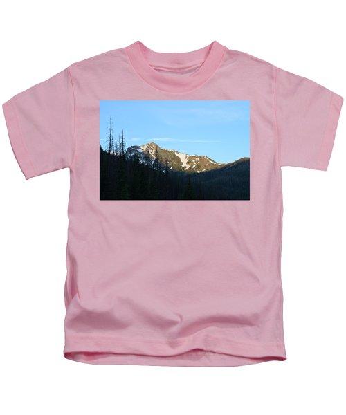 Mountain In Rocky Mountian Np Co Kids T-Shirt