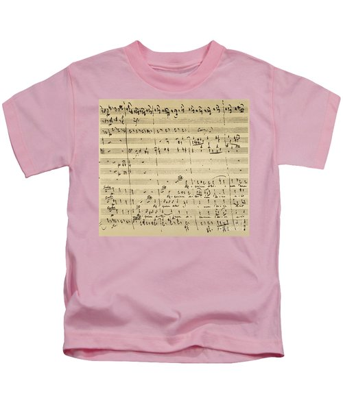 Mozart: Requiem Excerpt Kids T-Shirt