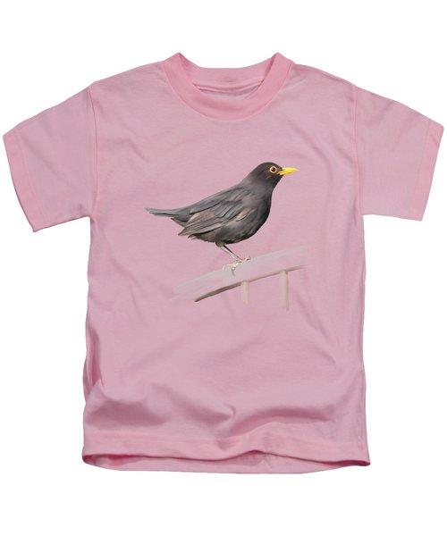 Ms. Blackbird Is Brown Kids T-Shirt