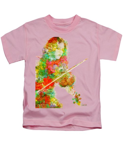 Music In My Soul Kids T-Shirt by Nikki Smith