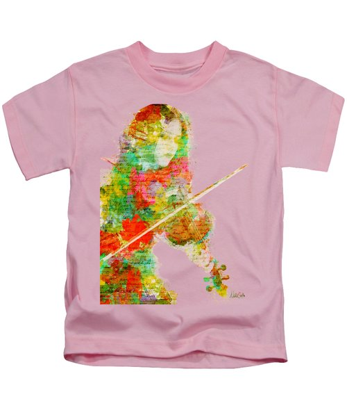 Music In My Soul Kids T-Shirt