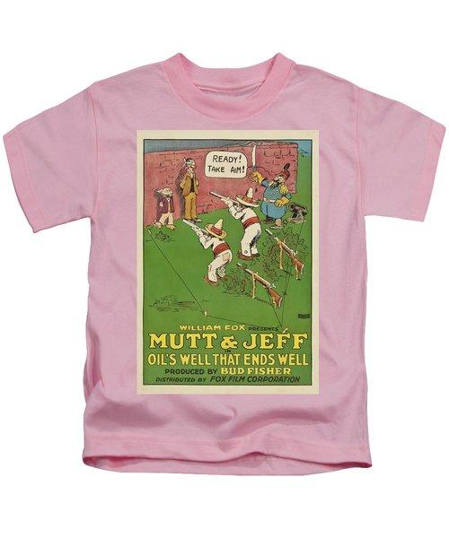 Mutt And Jeff 1919 Kids T-Shirt