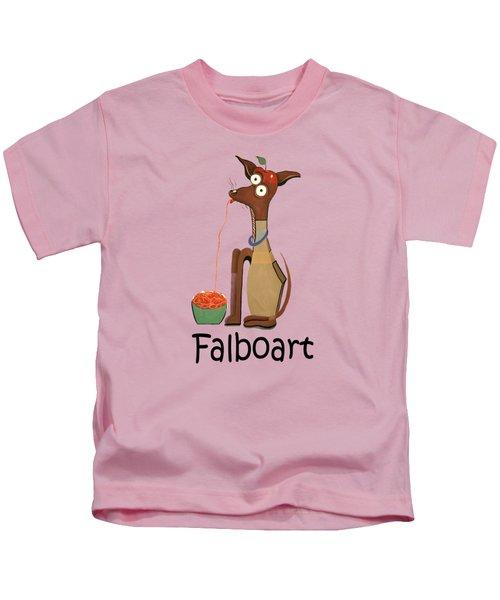 My Applehead Chiwawa Kids T-Shirt by Anthony Falbo