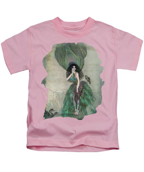 Mysterieuse Kids T-Shirt by Terry Fleckney