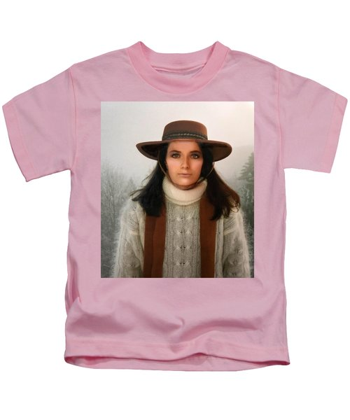 Kids T-Shirt featuring the photograph Nature Harmony Self Portrait  by Colette V Hera Guggenheim