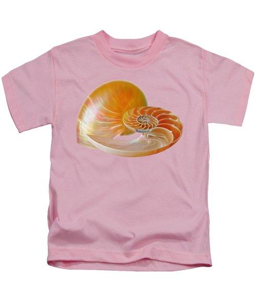 Nautilus Golden Glow Kids T-Shirt