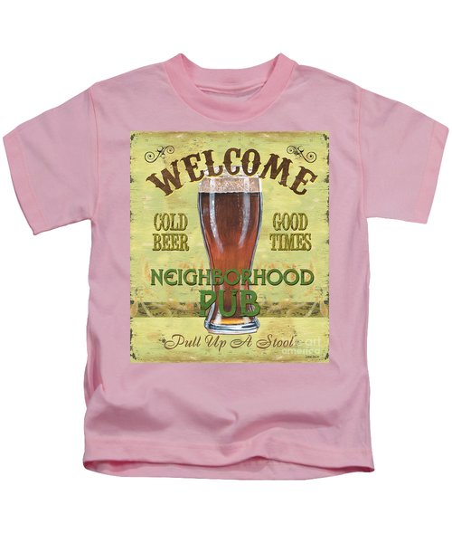 Neighborhood Pub Kids T-Shirt
