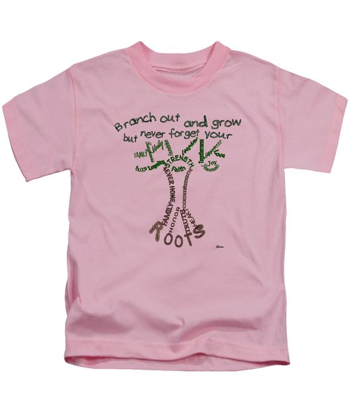 Never Forget Your Roots Version II Kids T-Shirt