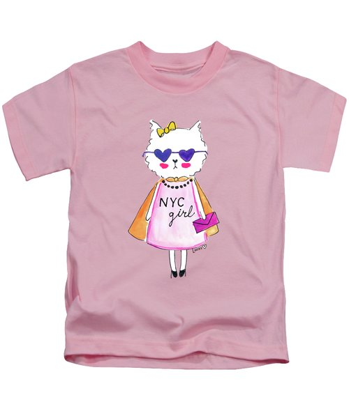 New York City Girl Kids T-Shirt