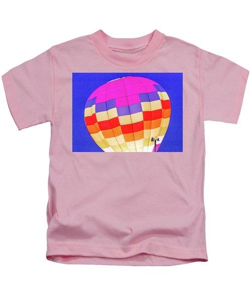 Night Glow At The Hot Air Balloon Festival Kids T-Shirt