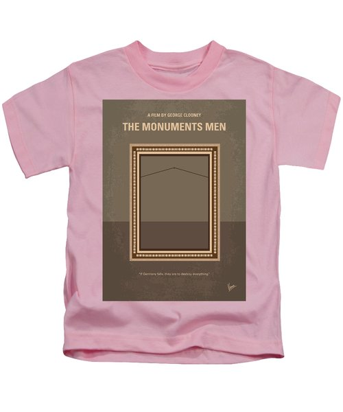 No845 My The Monuments Men Minimal Movie Poster Kids T-Shirt