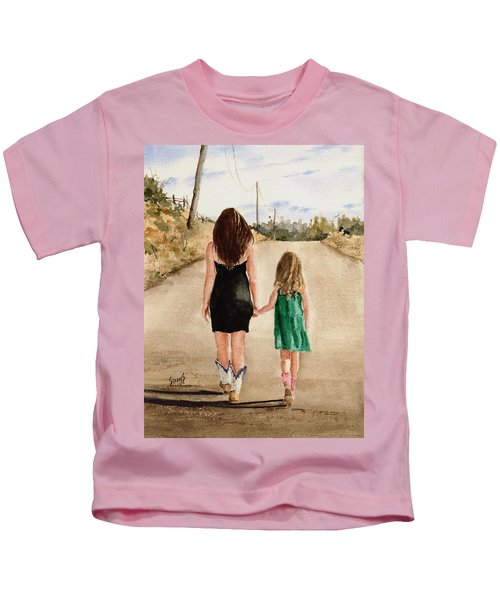 Northwest Oklahoma Sisters Kids T-Shirt
