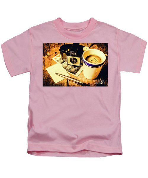Notes Of Past Recollection Kids T-Shirt
