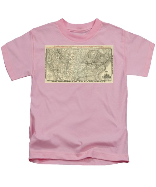 O And M Map Kids T-Shirt