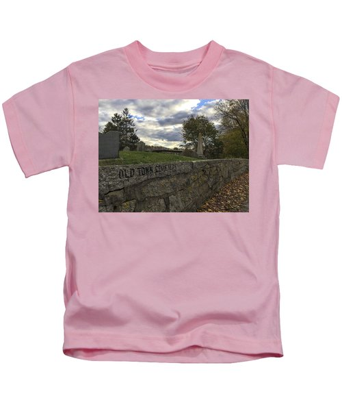 Old Town Cemetery Kids T-Shirt