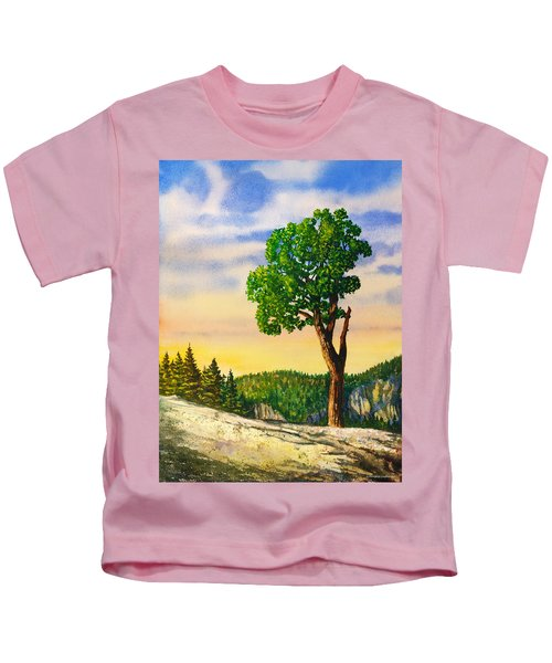 Olmsted Point Tree Kids T-Shirt