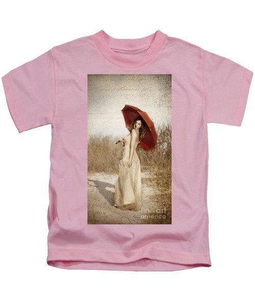 Painted Lady Narrow Kids T-Shirt
