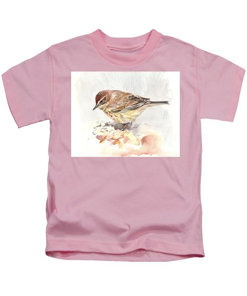 Palm Warbler Kids T-Shirt