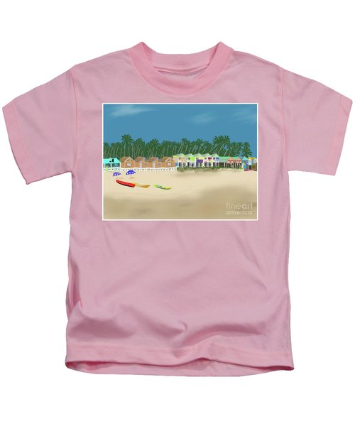 Palolem Beach Goa Kids T-Shirt