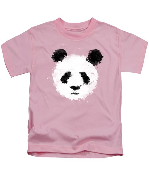 Panda Kids T-Shirt by Mark Rogan
