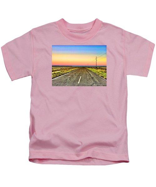 Pastel Morning Kids T-Shirt