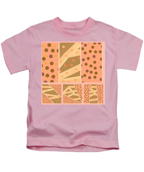 Patterns Of Finding Solace 100 Kids T-Shirt