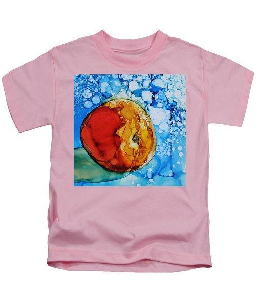 Peach Kids T-Shirt