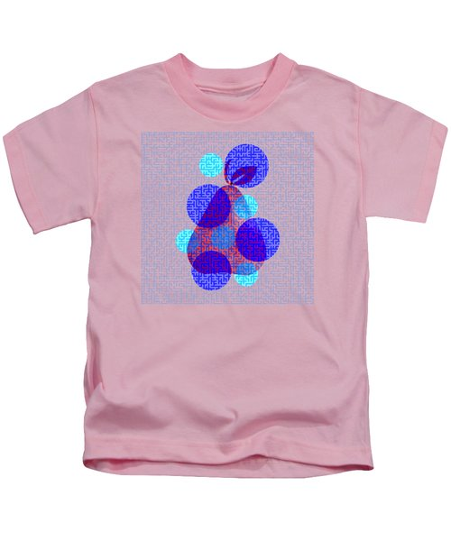 Pear In Blue Kids T-Shirt by Coco Des