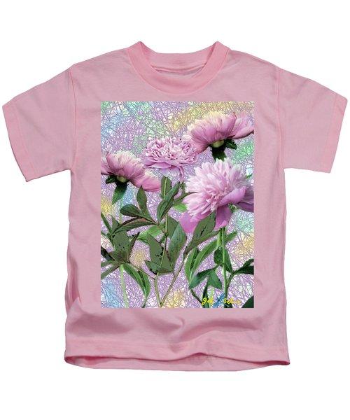 Peonies 6 Kids T-Shirt