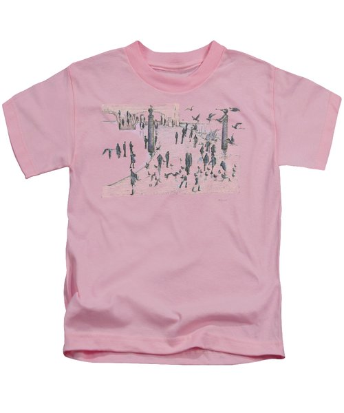 People And Birds, 19 December, 2015 Kids T-Shirt