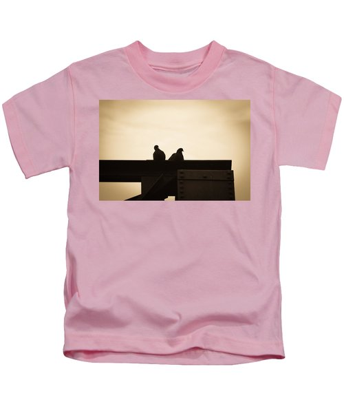 Pigeon And Steel Kids T-Shirt