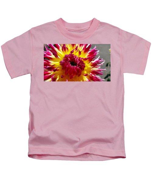 Pink Flames  Kids T-Shirt