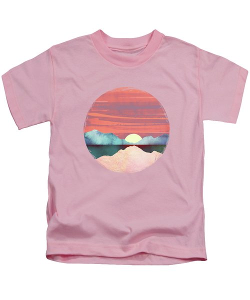 Pink Oasis Kids T-Shirt