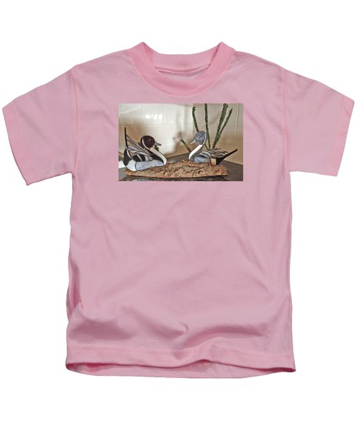 Pintail Ducks Kids T-Shirt