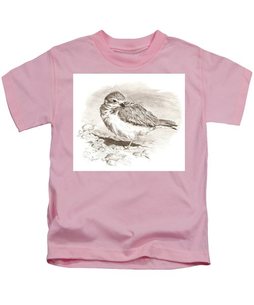 Piping Plover Kids T-Shirt