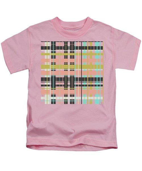 Plaid Pattern Kids T-Shirt