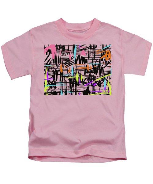 Playful Scribbles Kids T-Shirt