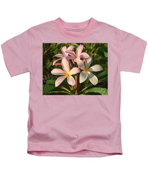 Plumeria Heaven Kids T-Shirt
