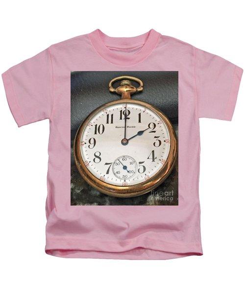 Pocket Watch Kids T-Shirt