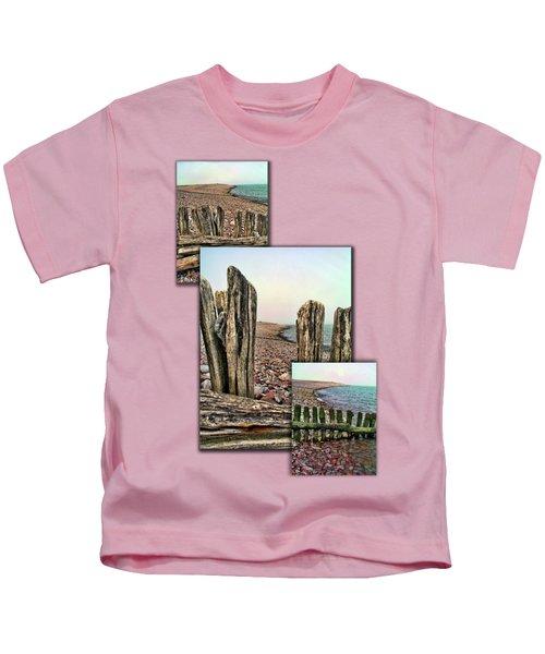 Porlock Beach. Kids T-Shirt