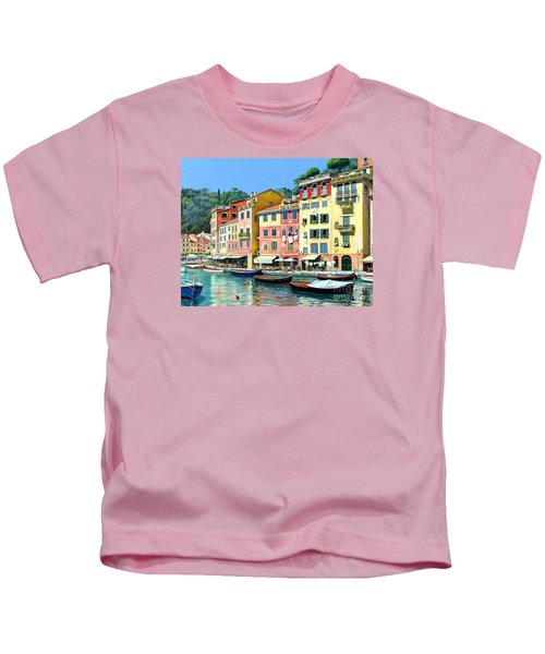 Portofino Sunshine 30 X 40 Kids T-Shirt