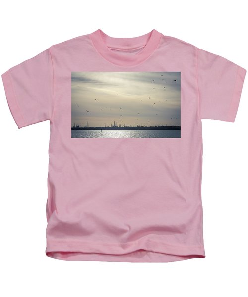 Power By The Sea Kids T-Shirt