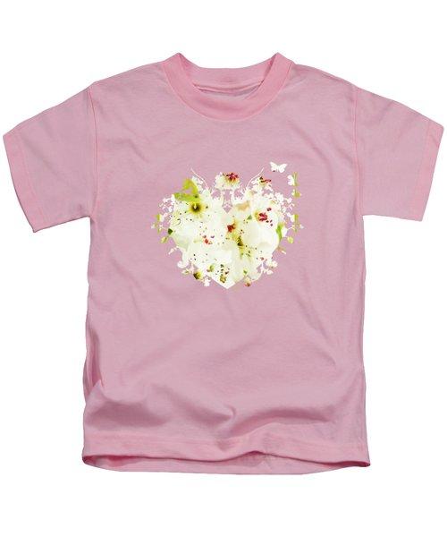 Pretty Pear Petals Kids T-Shirt