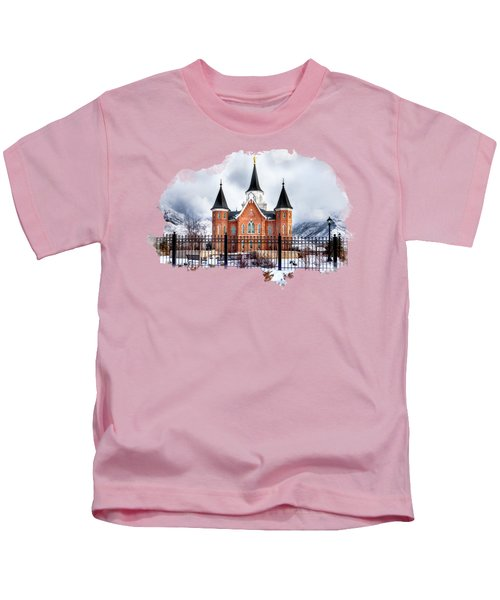 Provo City Center Temple Lds Large Canvas Art, Canvas Print, Large Art, Large Wall Decor, Home Decor Kids T-Shirt