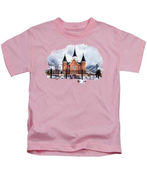 Provo City Center Temple Kids T-Shirt