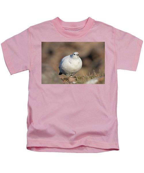 Ptarmigan Going For A Stroll Kids T-Shirt