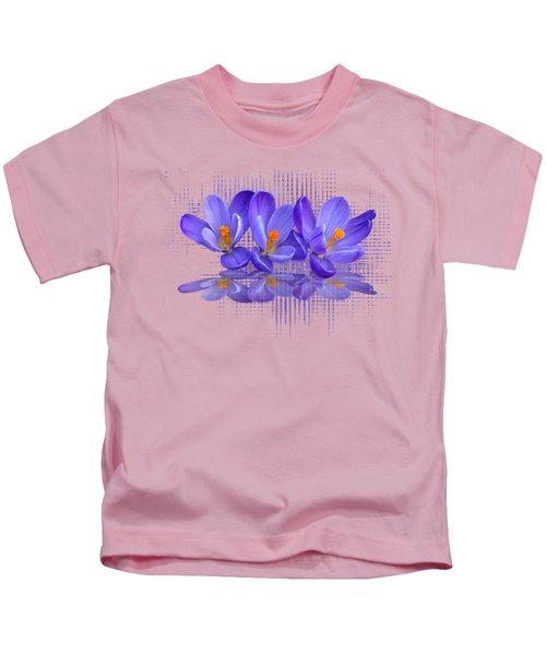 Purple Rain Triple Kids T-Shirt