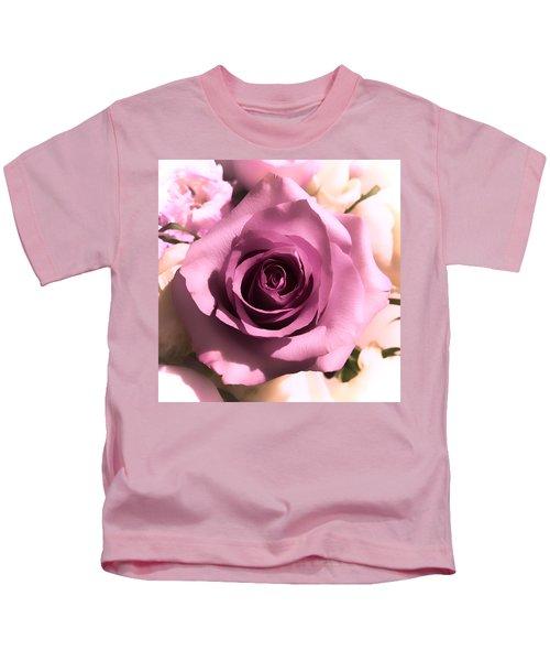 Purple Rose Kids T-Shirt