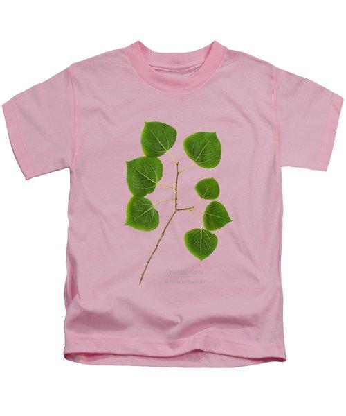 Quaking Aspen Kids T-Shirt